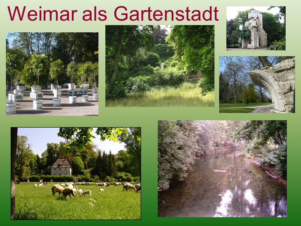 Weimar als Gartenstadt