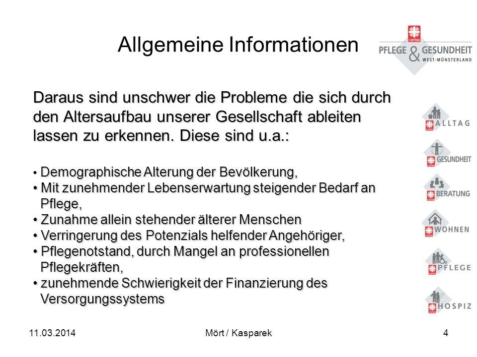 11.03.2014Mört / Kasparek15 Betreutes Wohnen Die Gemeinschaftsräume: