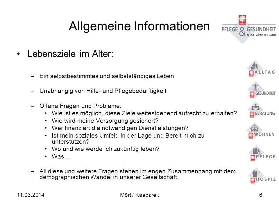 11.03.2014Mört / Kasparek37 Qualitätsmerkmale - Rechtliche Rahmenbedingungen – Finanzierung – 4.