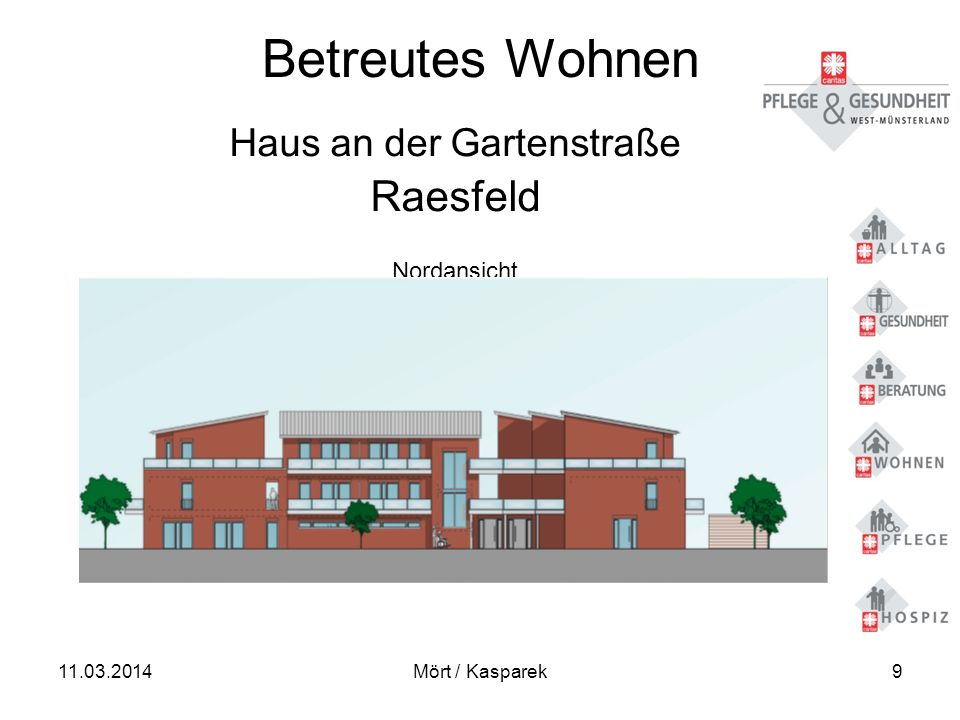 11.03.2014Mört / Kasparek30 Qualitätsmerkmale - Gemeinschaft – Betreuung - Pflege - 3.
