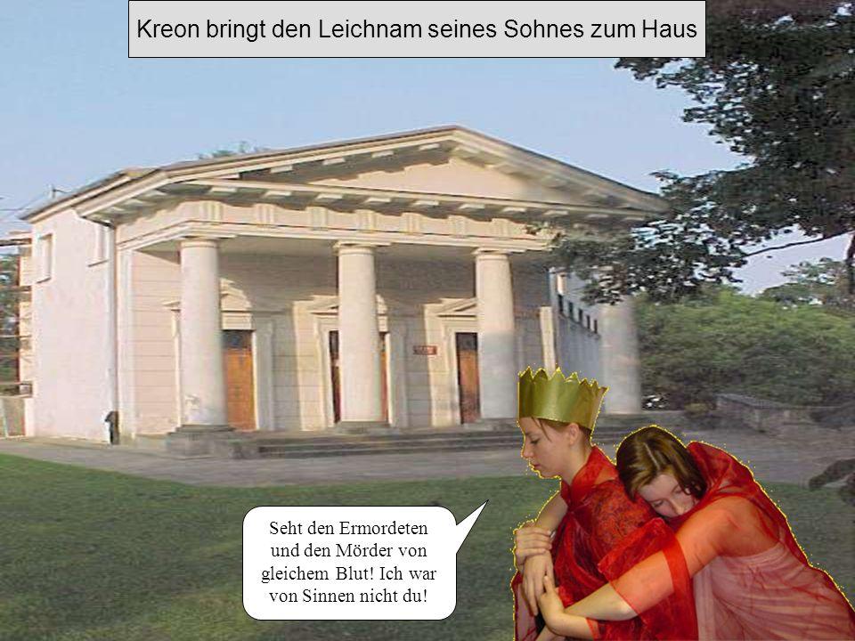 Haimon ersticht sich und schlingt seine Arme um seine Braut Neeeeiiiin !!!!