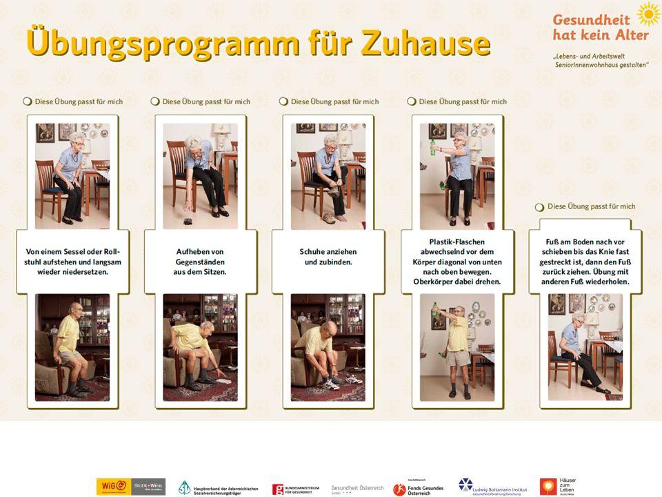 Übungsprogramm für Zuhause
