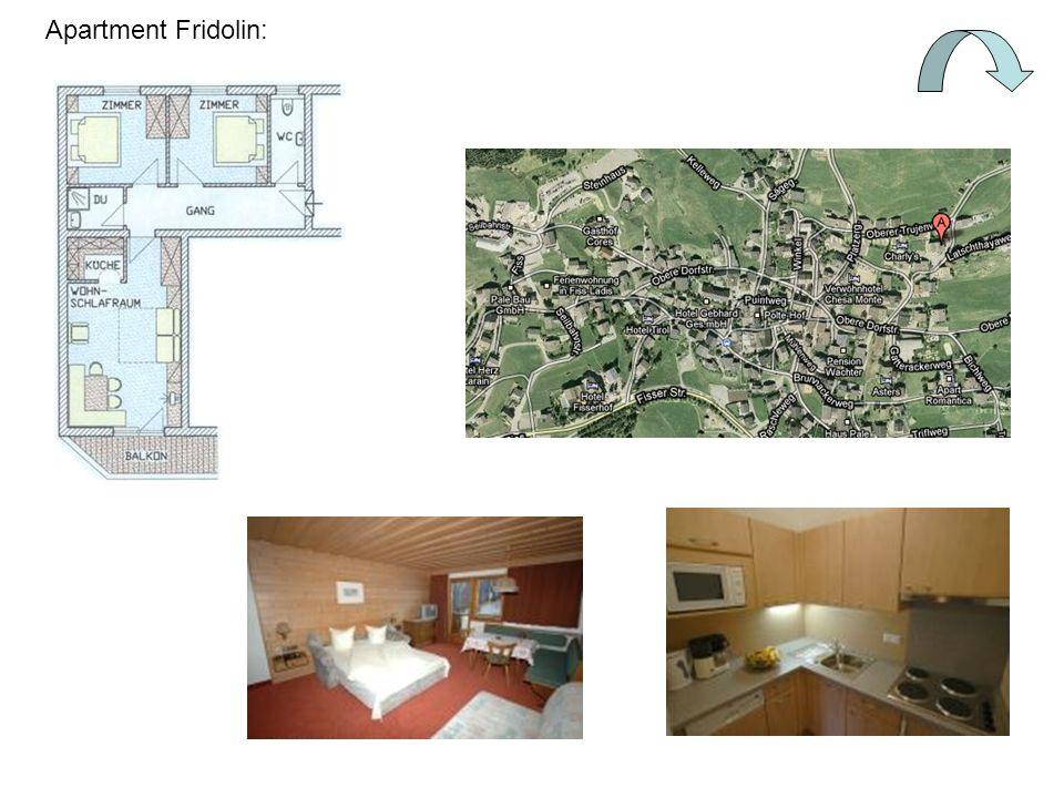 Apartment Fridolin: