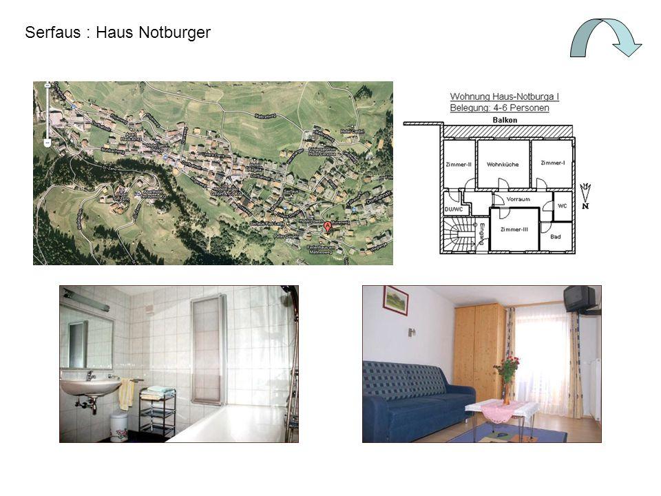 Serfaus : Haus Notburger