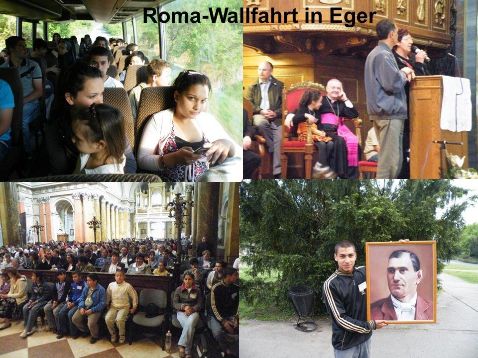 Roma-Wallfahrt in Eger