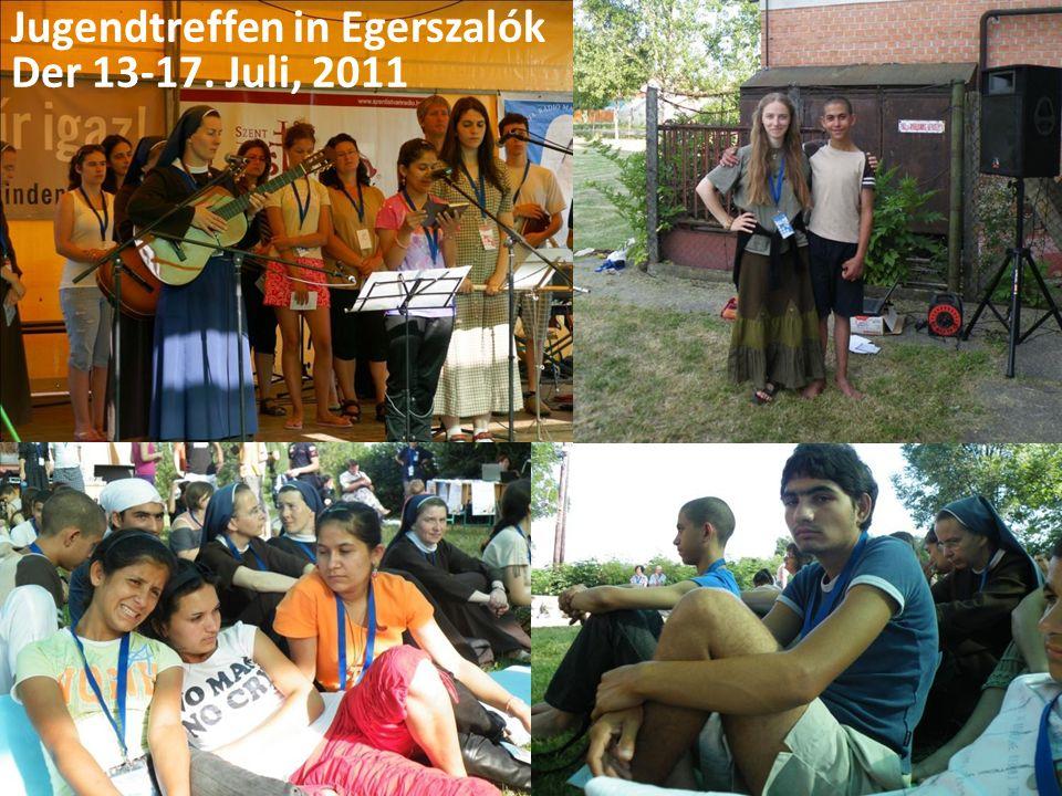 Jugendtreffen in Egerszalók Der 13-17. Juli, 2011
