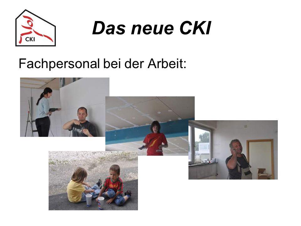 Das neue CKI Fachpersonal bei der Arbeit: