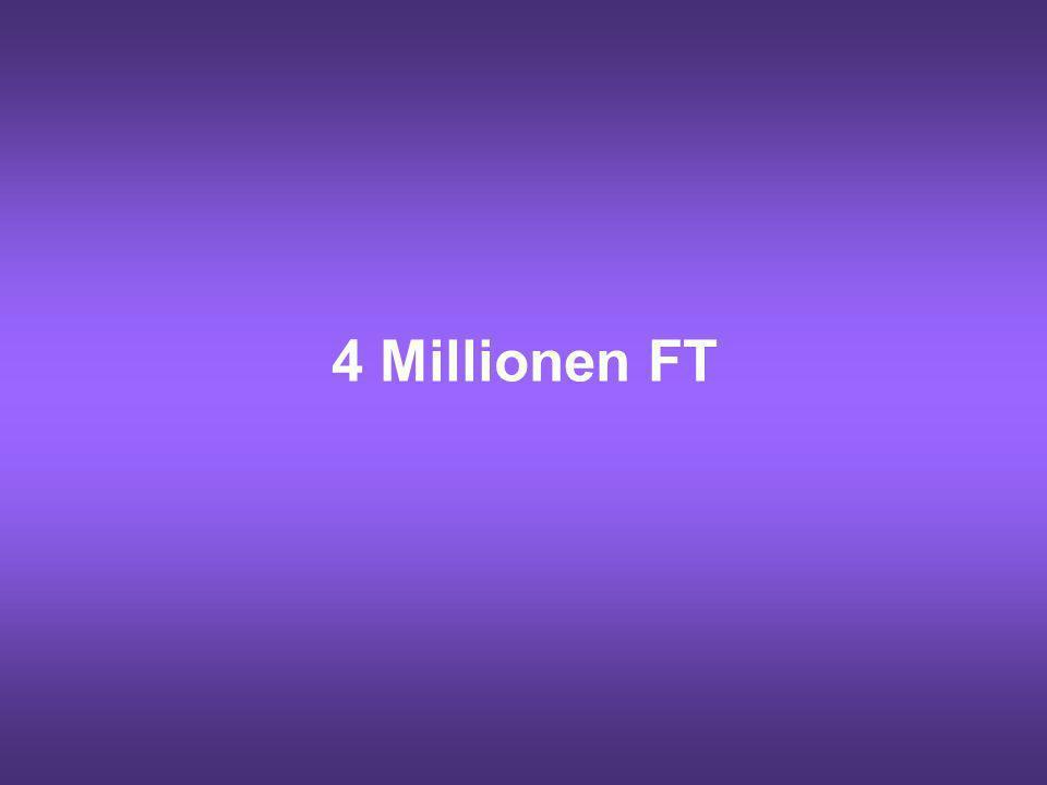 4 Millionen FT