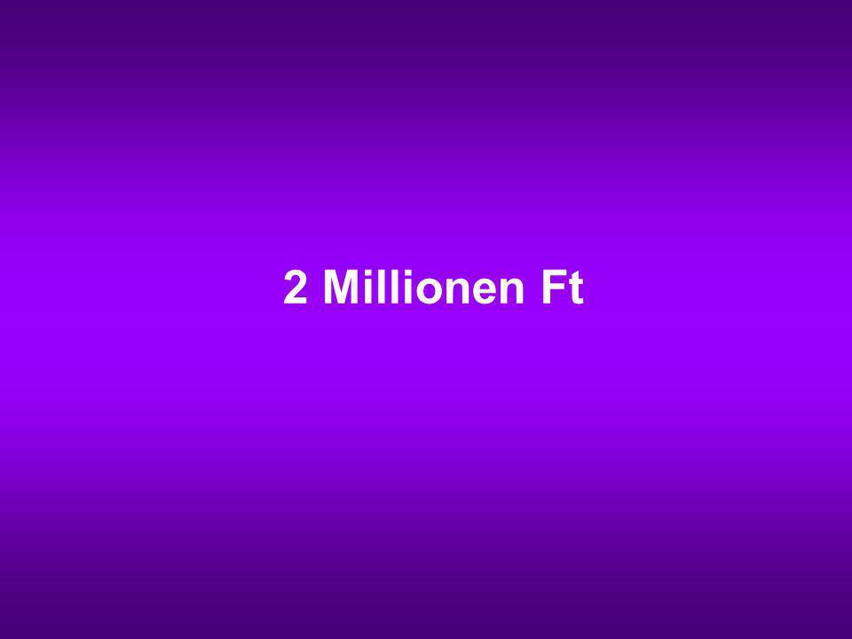 2 Millionen Ft