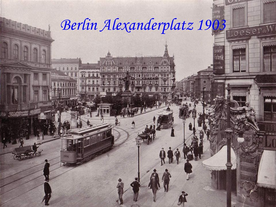Berlin Alexanderplatz 1903