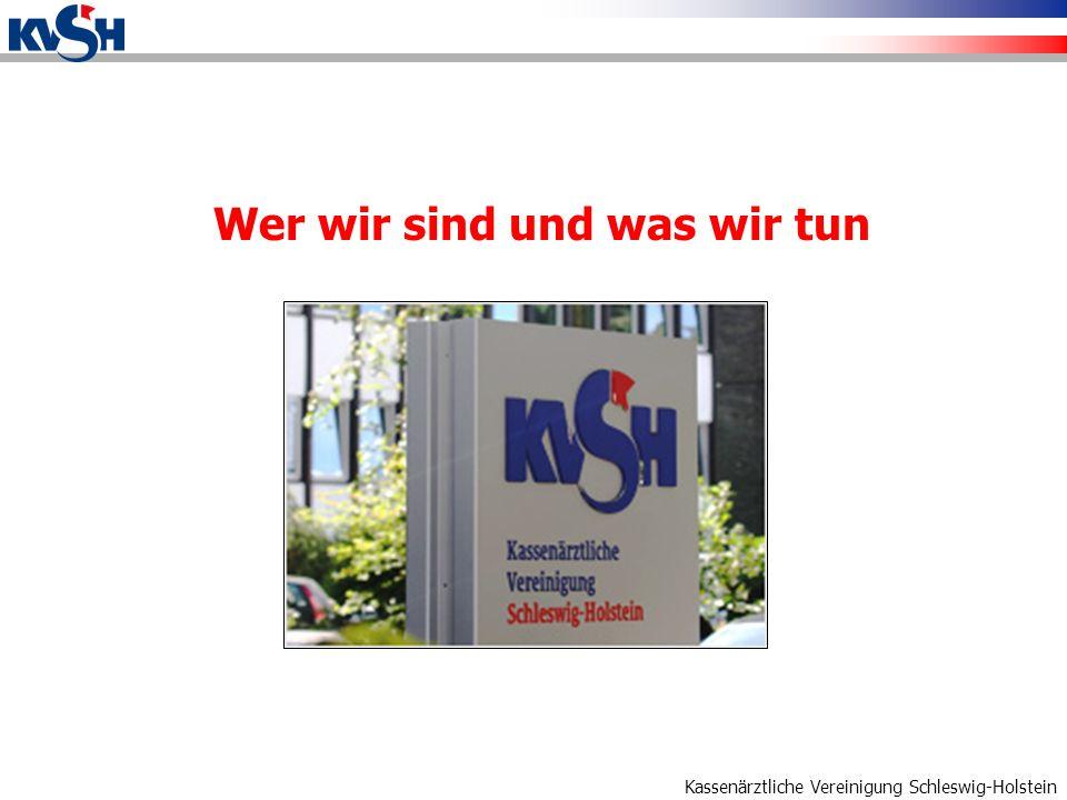 Kassenärztliche Vereinigung Schleswig-Holstein Versorgung braucht Partner Die ambulante ärztliche Versorgung lässt sich nicht am grünen Tisch planen, die KVSH kann Standortfaktoren nur begrenzt beeinflussen.