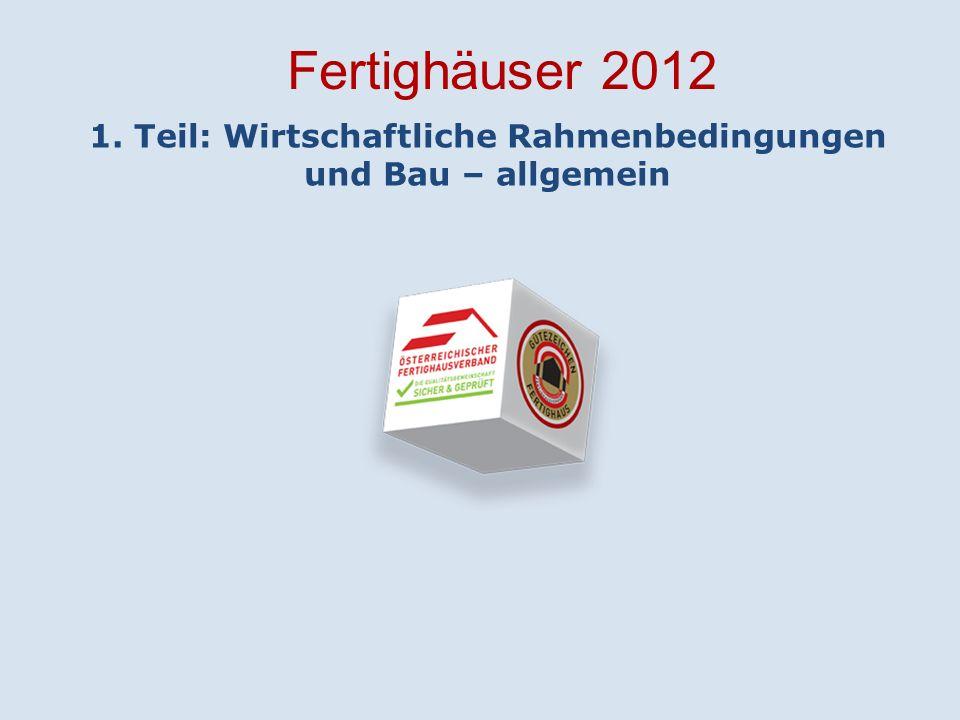 Wirtschaftliche Rahmenbedingungen 2010 20112012 Prognose 2013