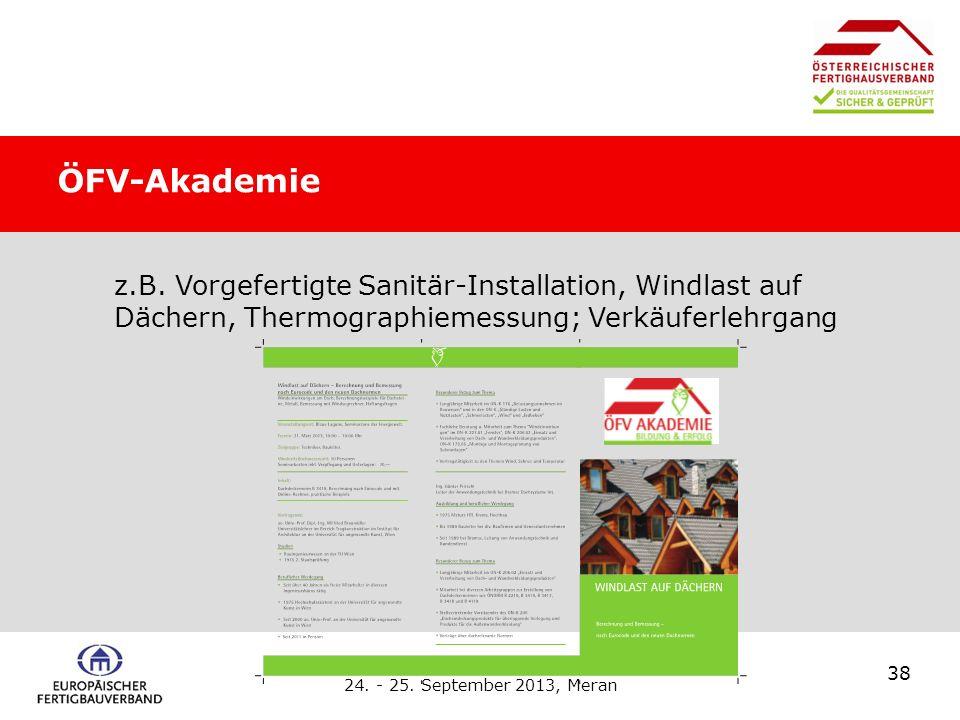 Europäischer Fertigbauverband, 24.- 25. September 2013, Meran 38 z.B.