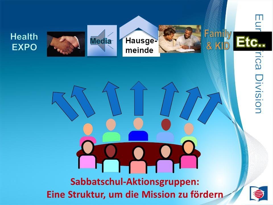 Hausge- meinde Sabbatschul-Aktionsgruppen: Eine Struktur, um die Mission zu fördern
