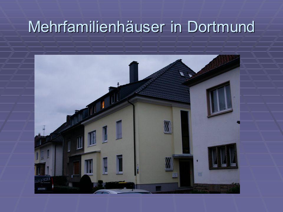 Mehrfamilienhäuser in Dortmund