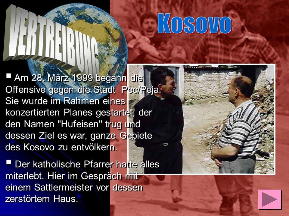 Ernst Leuninger, war am 26. April 1999 mit Bischof Franz Kamphaus nach Skopje geflogen, um u.a. die von deutscher Seite errichteten Auffanglager Stanc