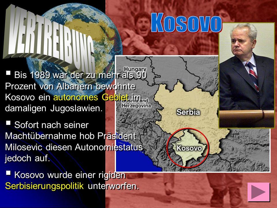 Ernst Leuninger überbringt dem Bischof der katholischen Albaner im Kosovo Marko Sopi von Przren ein Schreiben des Bischofs von Limburg mit dessen Hilf
