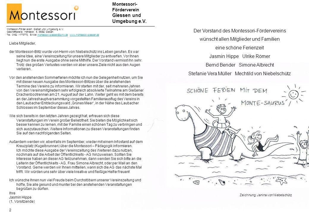 Montessori- Förderverein Giessen und Umgebung e.V.