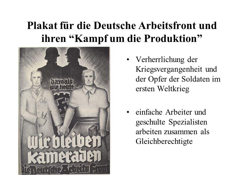 Verherrlichung der Kriegsvergangenheit und der Opfer der Soldaten im ersten Weltkrieg einfache Arbeiter und geschulte Spezialisten arbeiten zusammen a