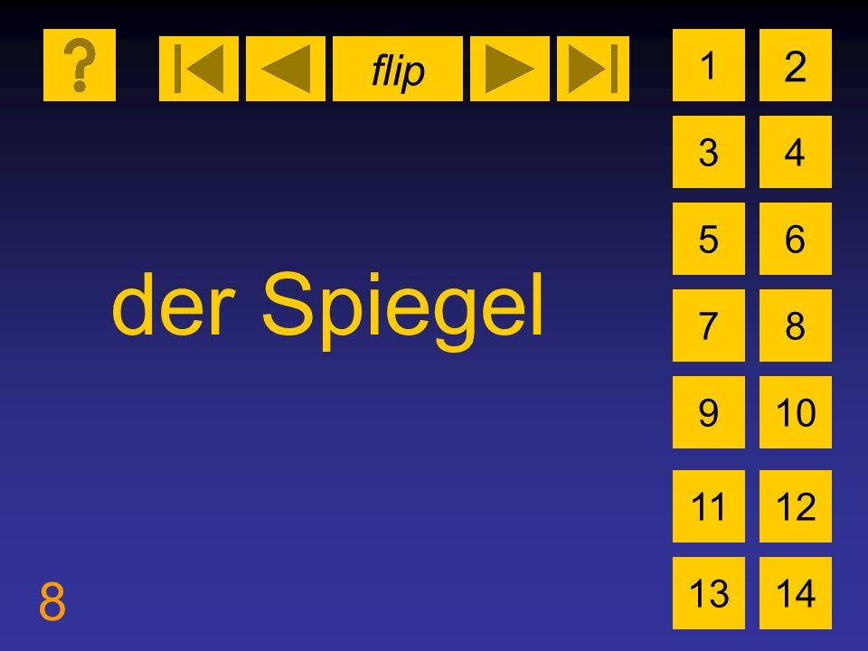 flip 8 1 3 2 4 5 7 6 8 910 1112 1314 der Spiegel