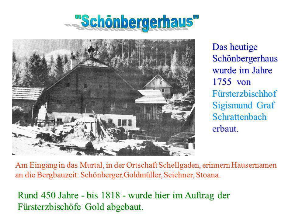 Hier wohnte der Bergknappe Toni, der im Silberbergbau (Silbereck) beschäftigt war.