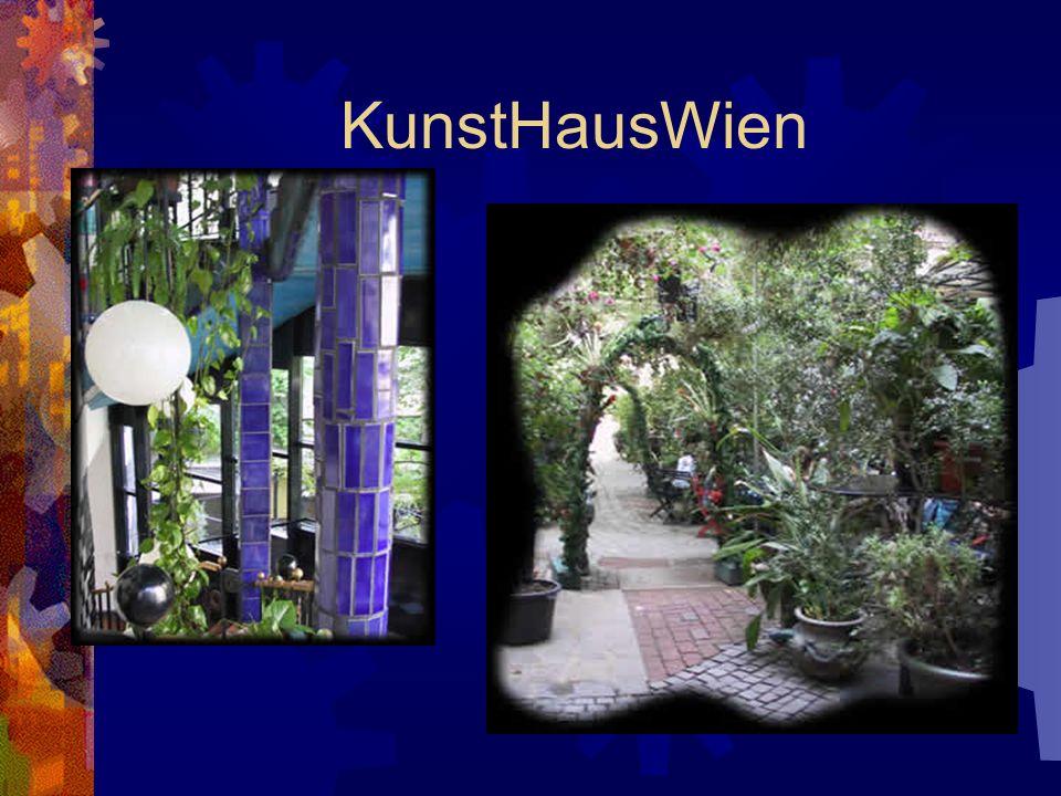KunstHausWien 1989 hat Hundertwasser das alte Gebäude einer Möbelfabrik in das Kunsthaus umgebaut. Es wurde am 9. April 1991 eröffnet. Im Kunsthaus si