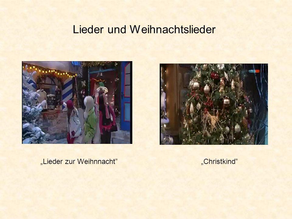 Lieder und Weihnachtslieder Lieder zur WeihnnachtChristkind