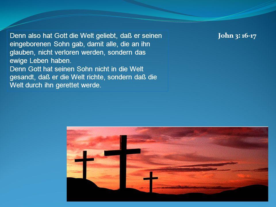 John 3: 16-17