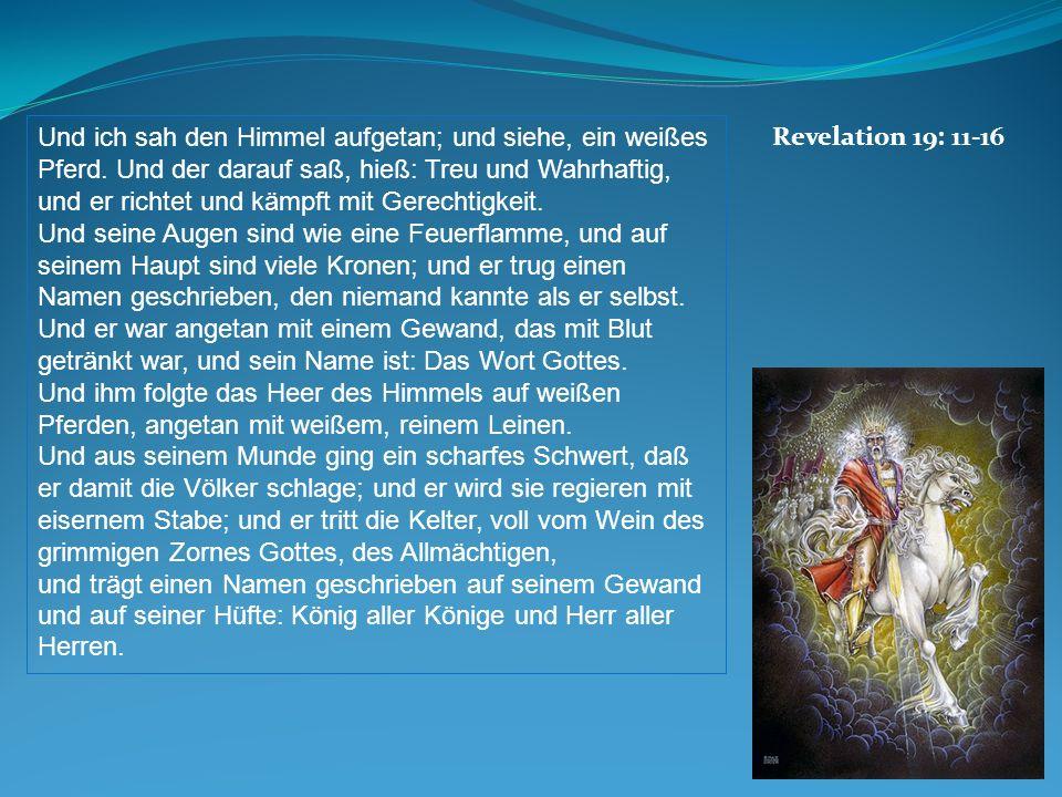Revelation 19: 11-16