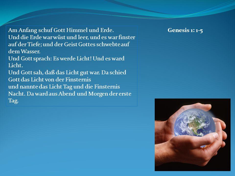 Genesis 1: 1-5