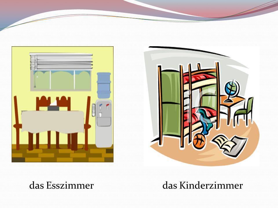 das Esszimmerdas Kinderzimmer