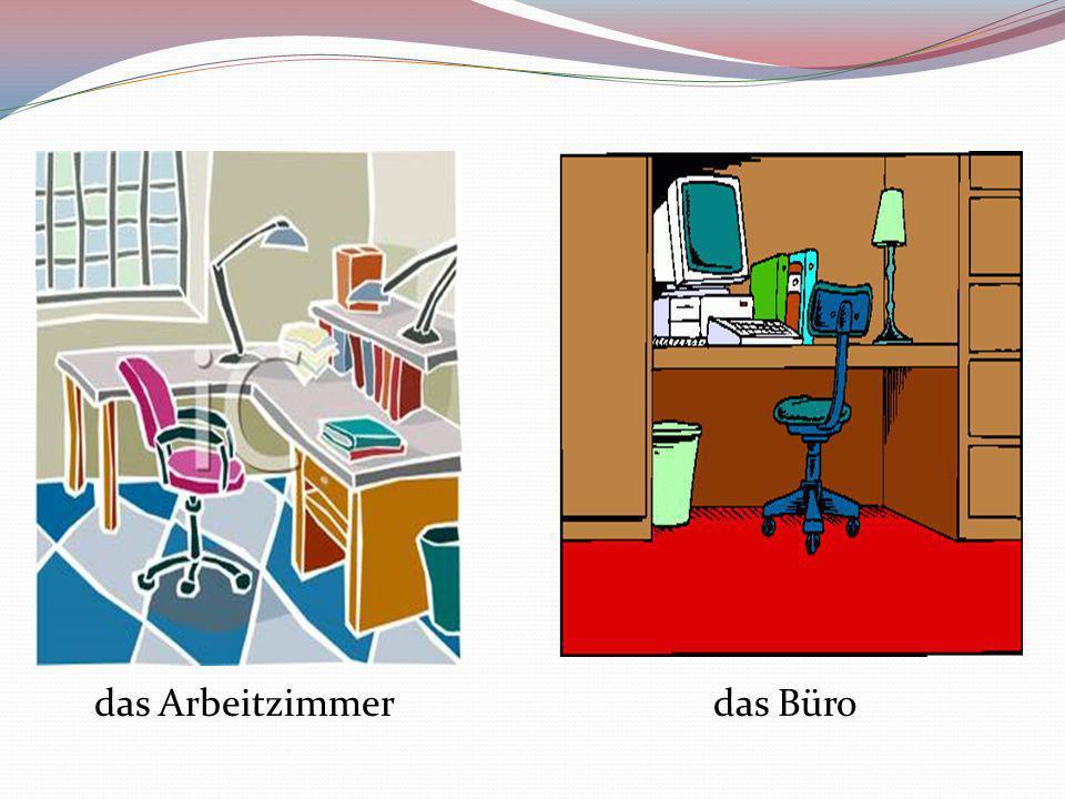 das Arbeitzimmerdas Büro