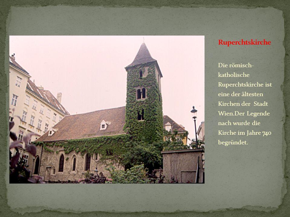 Das Stephansdom ist das Wahrzeichen Wiens, ist 137 Meter hoch und gilt als gotisches Bauwerk Ősterreichs.