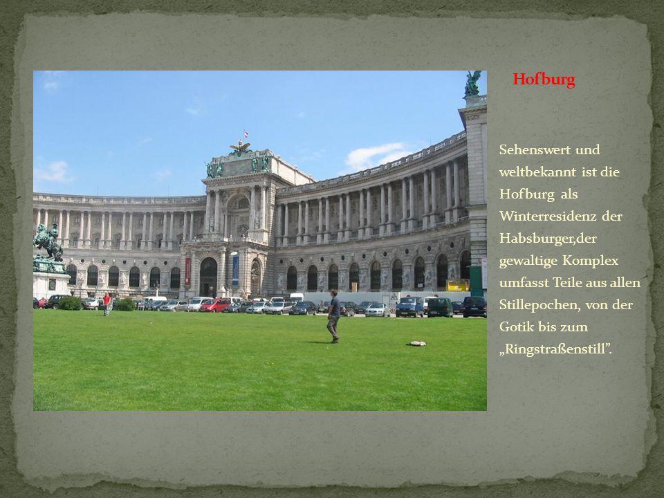 Die Wiener Staatsoper, das Erste Haus am Ring, kulturelle Institution, ist das wichtigste Opernhaus Wiens und eins der bekanntesten Opernhaus der Welt