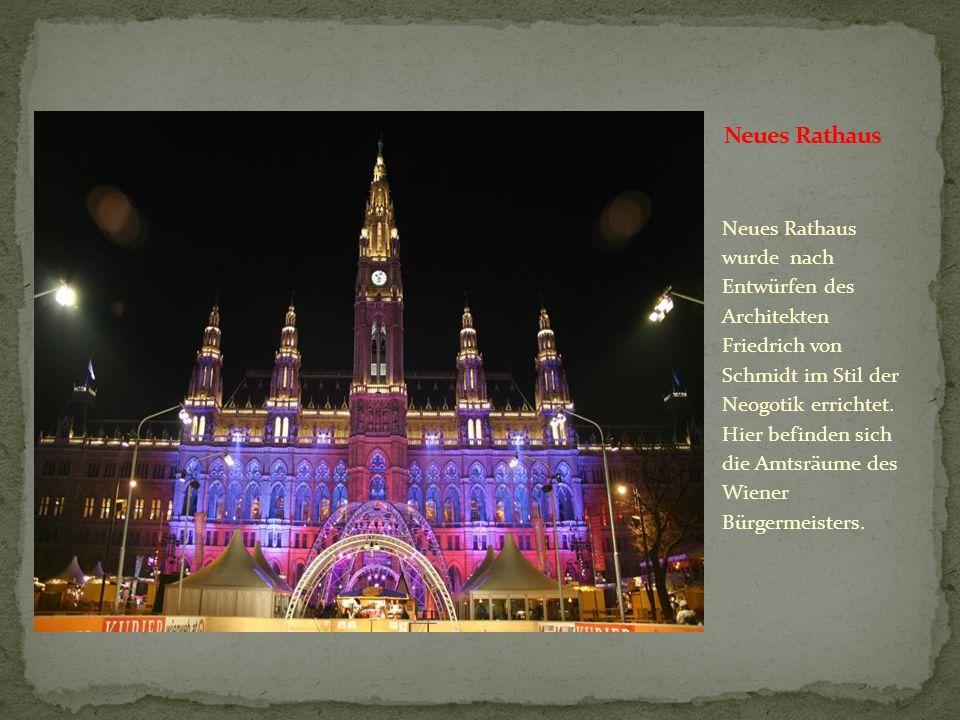 Der Albertinaplatz liegt am östlichsten Rand der Wiener Hofburg, wichtige Attraktionen am Albertinaplatz sind die Wiener Staatsoper, die Albertina, da