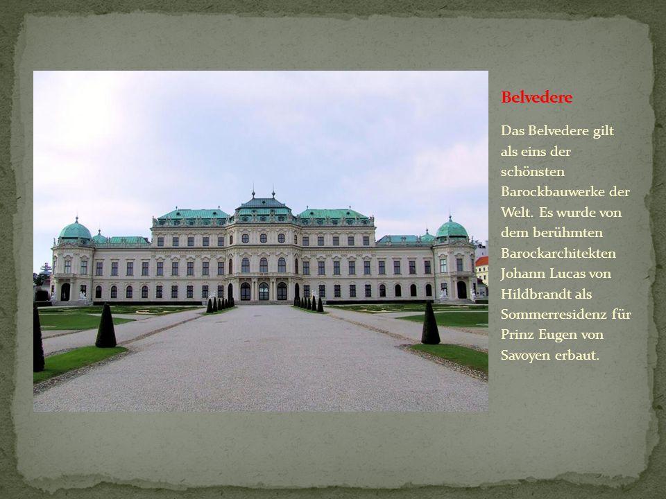 Das Kunsthistorische Museum in Wien zählt zu den größten und bedeutendsten Museen der Welt. Hier befinden sich Sammlungen von der Zeit des Alten Ägypt