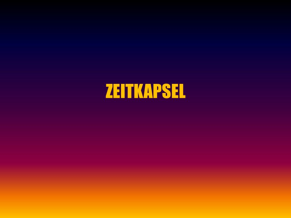 ZEITKAPSEL