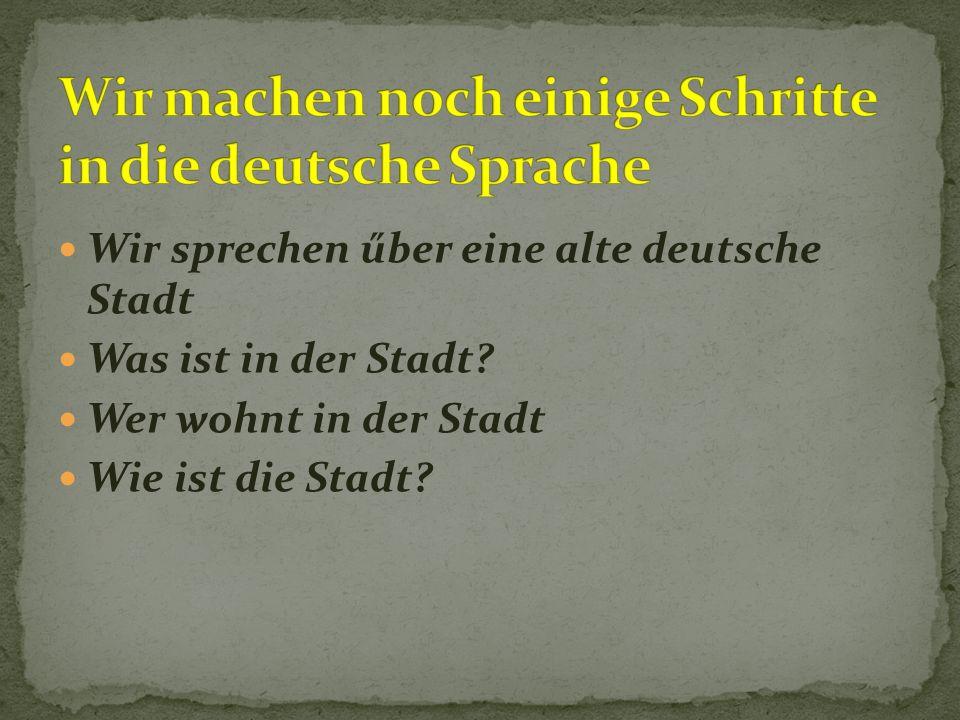 Deutschstunde Klasse 5w