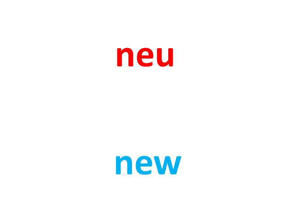 neu new