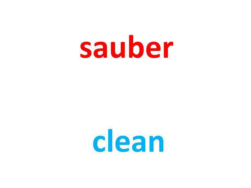 sauber clean