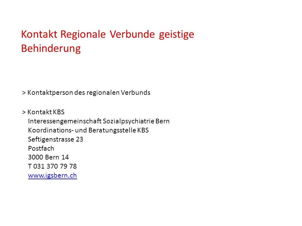 > Kontakt KBS Interessengemeinschaft Sozialpsychiatrie Bern Koordinations- und Beratungsstelle KBS Seftigenstrasse 23 Postfach 3000 Bern 14 T 031 370