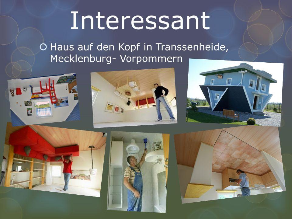 Interessant Haus auf den Kopf in Transsenheide, Mecklenburg- Vorpommern