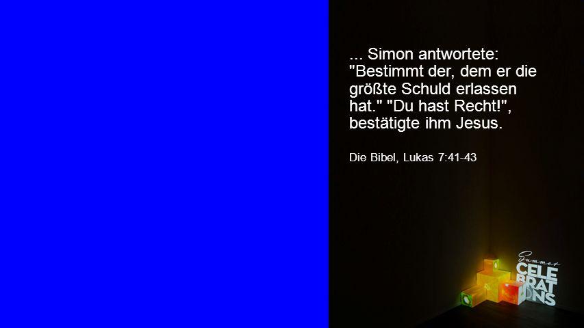 Seiteneinblender... Simon antwortete: