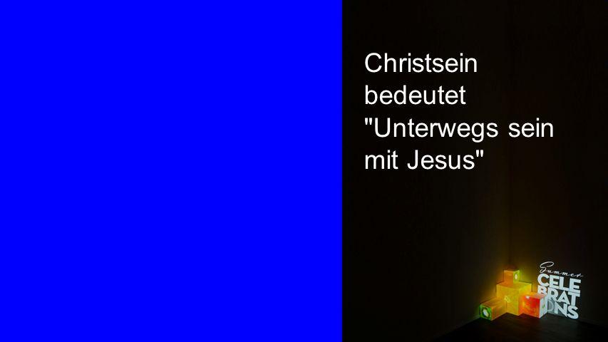 Seiteneinblender Christsein bedeutet