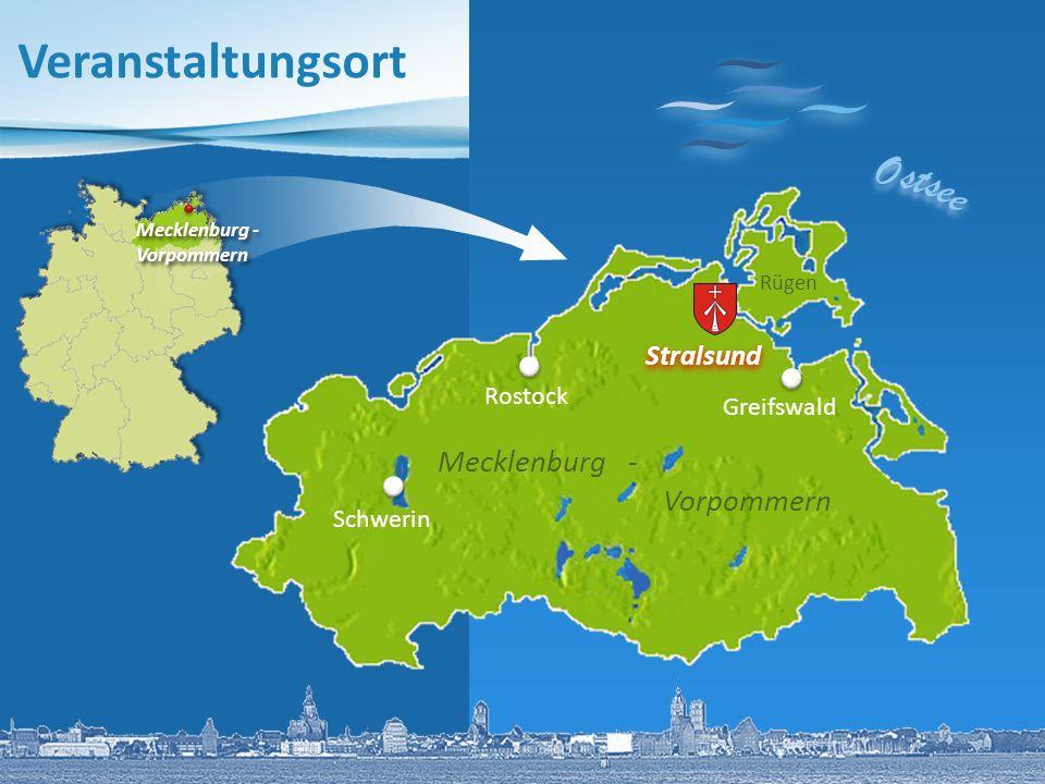 Tor zur Insel Rügen UNESCO-Weltkulturerbe Hansestadt Mecklenburg - Vorpommern Veranstaltungsort