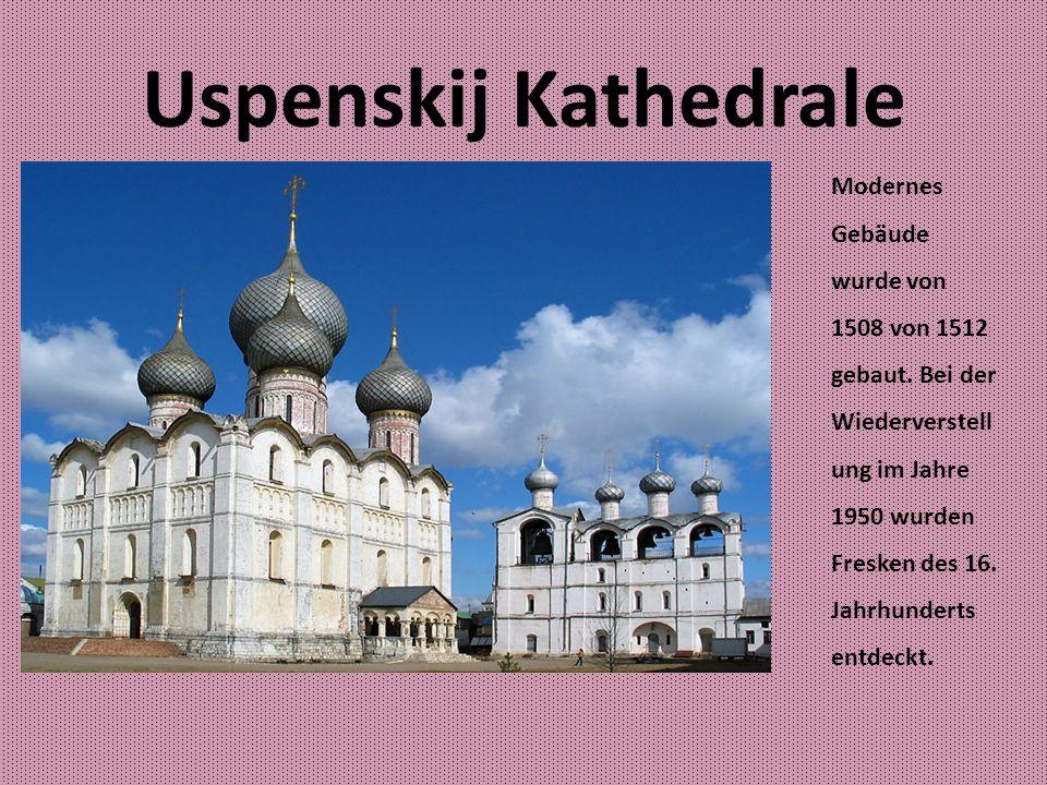 Jaroslawl Die Stadt wurde im 11.Jahrhundert gegründet.