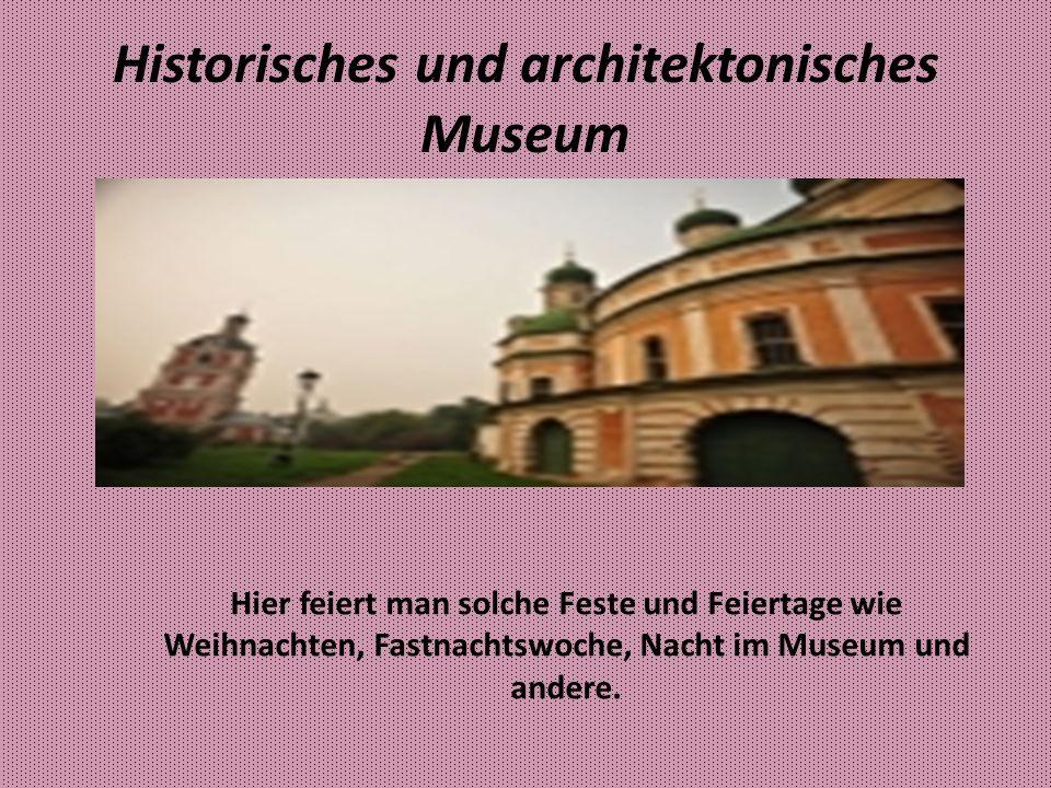 Museum von Alexander Newskij Das ist eine große Geschichte.