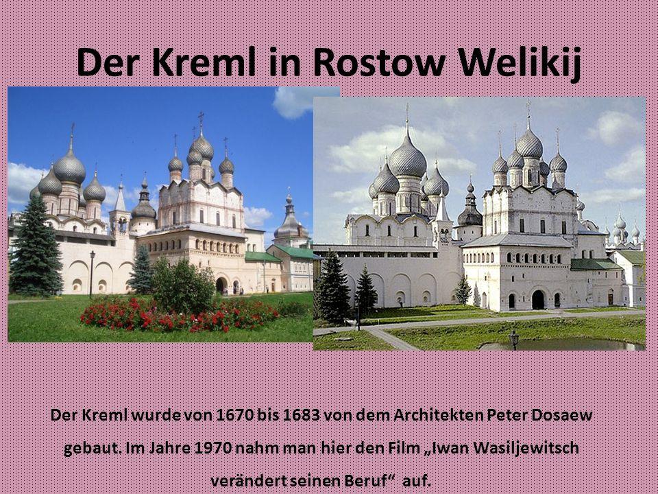 Uspenskij Kathedrale Modernes Gebäude wurde von 1508 von 1512 gebaut.