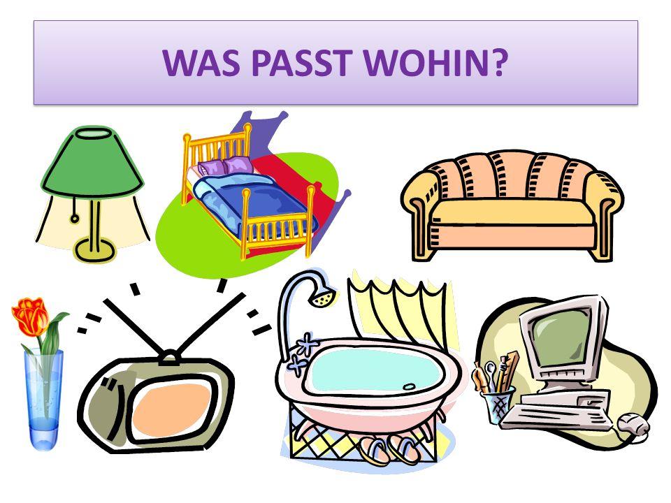 WAS PASST WOHIN?