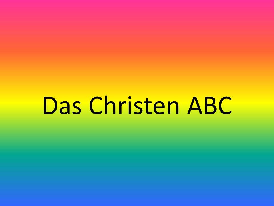 Das Christen ABC